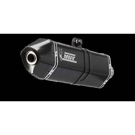 Mivv Speed Edge Εξάτμιση T Max 530 2012-2016 Steel Black