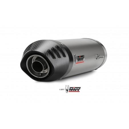 Mivv Oval Exhaust YZF R1 2004-2006 Titanium