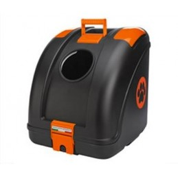 Pet On Wheels Black/Orange