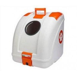Pet On Wheels White/Orange