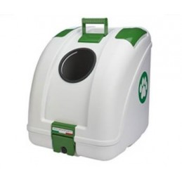 Pet On Wheels White/Green