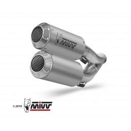 Mivv MK3 Double Exhaust CB...