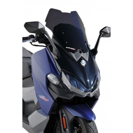 Ζελατίνα Maxsym 500 TL Ermax Κοντή Σπορ 46cm 2020-2021 Σκούρο Φιμέ