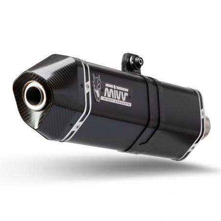 Mivv Speed Edge Ολόσωμη Εξάτμιση Maxsym TL 500 2020-2021 Steel Black