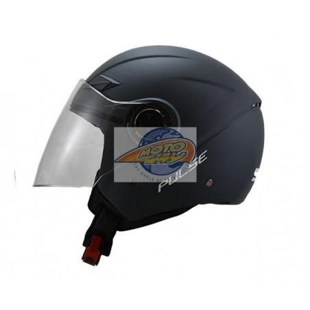 Κράνος STR Pulse Γκρι - Ματ Jet XXL