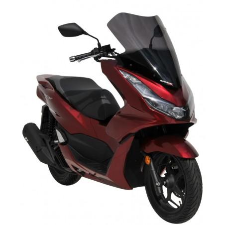 Ζελατίνα Κοντή PCX 125/150 2021-2022 Honda Ermax Σκούρο Φιμέ 53cm