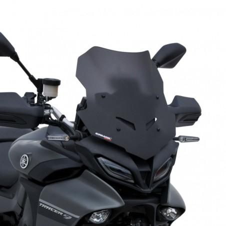 Ζελατίνα Tracer 9 2021-2022 Ermax Yamaha Κοντή Σκούρο Φιμέ 5cm