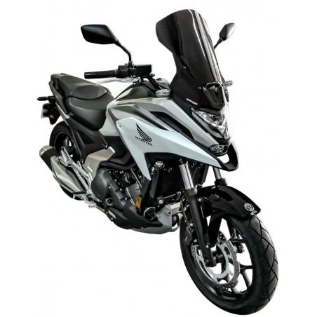 Ζελατίνα NC 750X 2021-2022 Ermax Honda Τουριστική Μαύρη