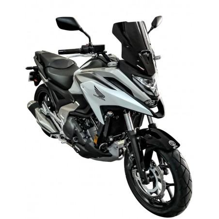 Ζελατίνα NC 750X 2021-2022 Ermax Honda Κοντή Μαύρη