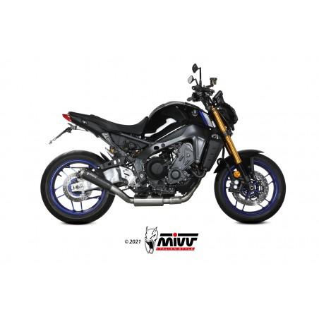 Mivv X-M1 Ολόσωμη Εξάτμιση MT 09 2021-2022 Black Steel